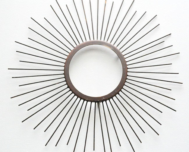 Beaded Sunburst Mirror 3