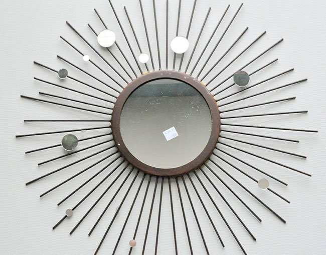 Beaded Sunburst Mirror 2