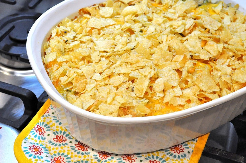 Cheesy Tuna Casserole 4