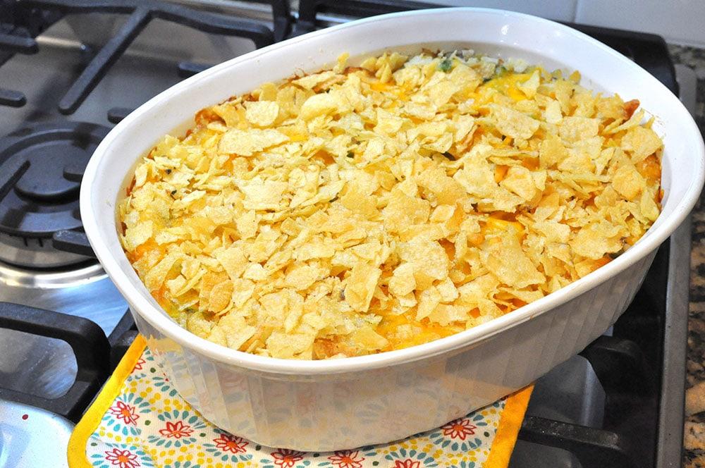 Cheesy Tuna Casserole 2