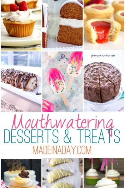 Mouthwatering Desserts Treats