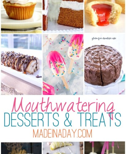 Gorgeous Mouthwatering Desserts: Treats 32