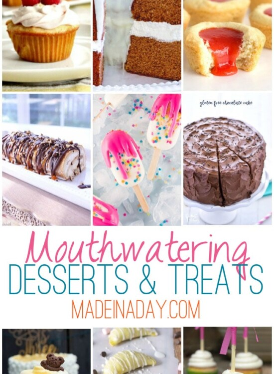 Gorgeous Mouthwatering Desserts: Treats 35