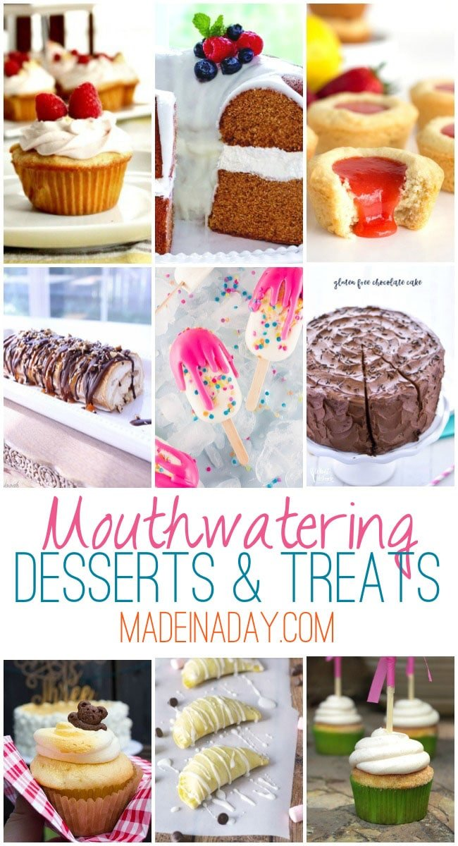dessert recipe collection, gorgeous desserts