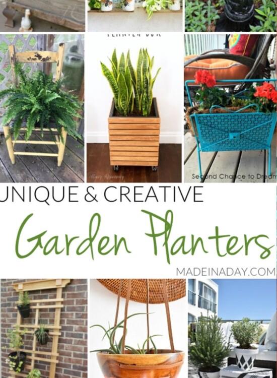 Unique Creative Garden Planter Ideas 31