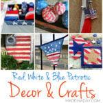Patriotic DIY Decorations and Crafts Ideas 1