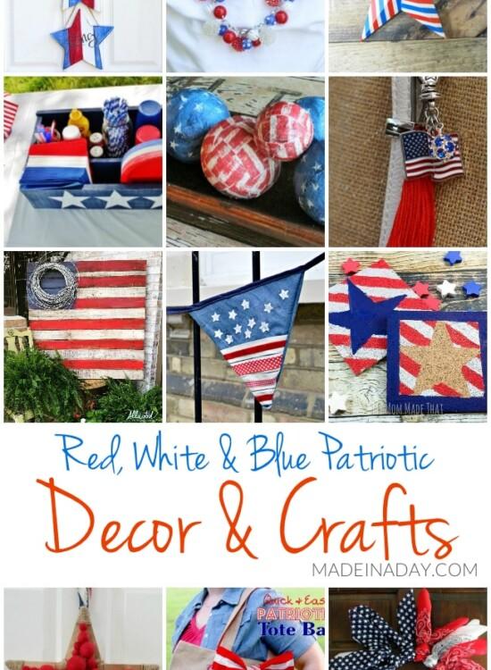 Patriotic DIY Decorations and Crafts Ideas 34