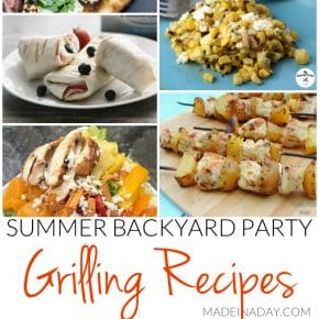 Summer Backyard Party Grilling Recipes 1