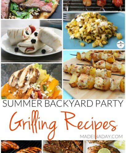 Summer Backyard Party Grilling Recipes 33