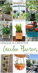 Unique Creative Garden Planter Ideas 1