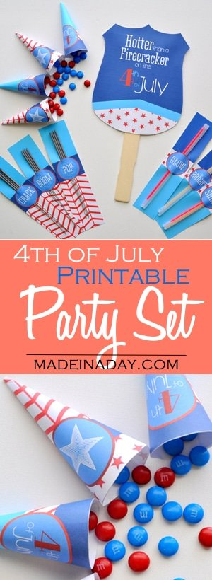 Printable 4th of July Supply Kit 2
