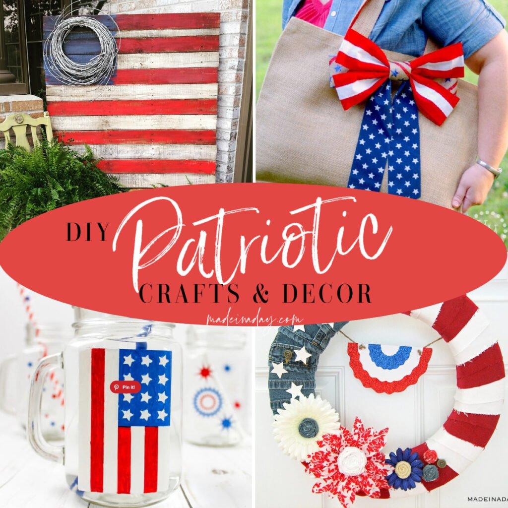 DIY 4th of July Crafts | Decor & Fashion