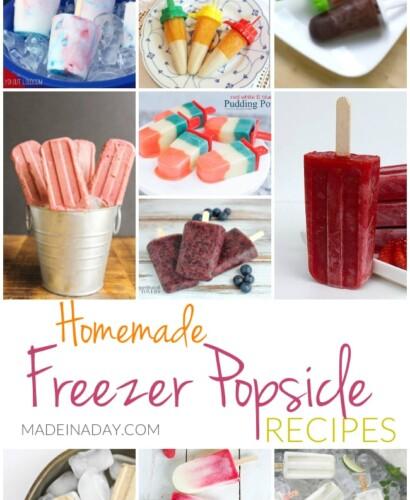 Homemade Freezer Popsicle Recipes 31
