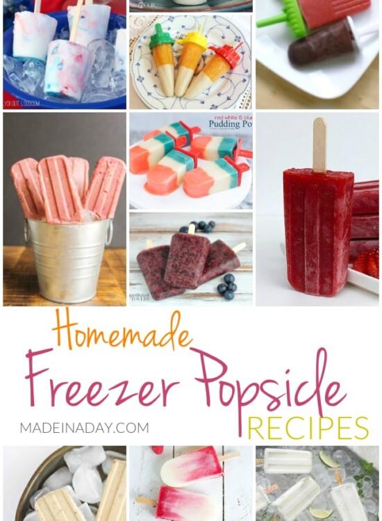 Homemade Freezer Popsicle Recipes 34