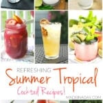 Refreshing Summer Tropical Cocktail Recipes 1