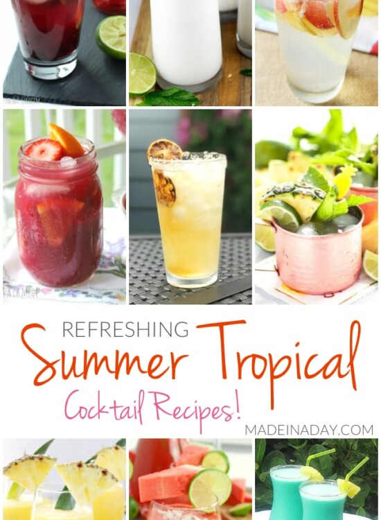 Refreshing Summer Tropical Cocktail Recipes 34