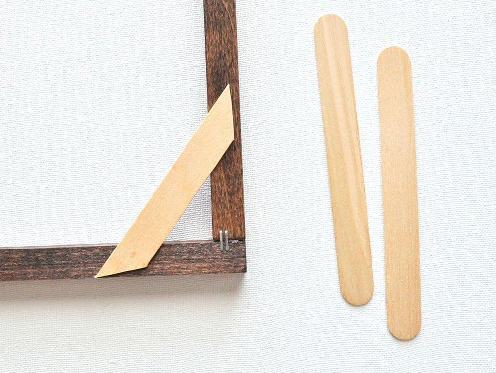 DIY Minimal Framed Palm Wall Art 36