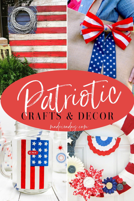 DIY 4th of July Crafts   Decor & Fashion