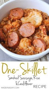 Hearty Sausage and Rice Skillet Meal 1