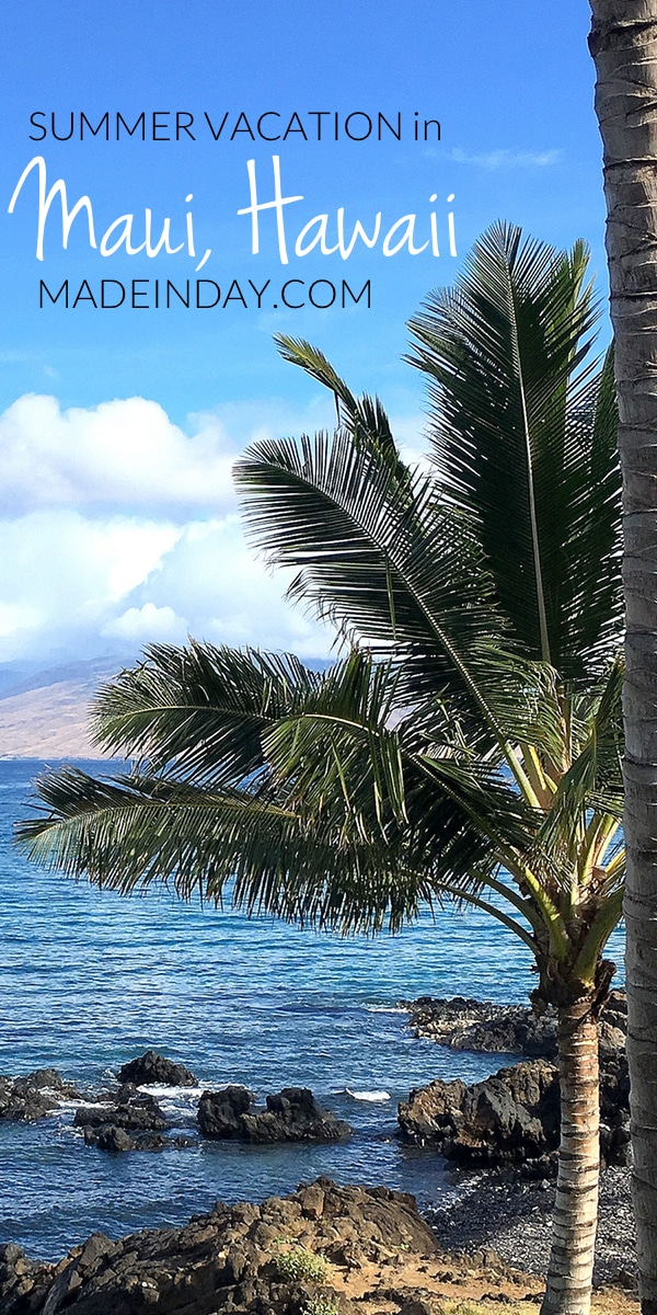 Summer Vacation in Maui, Hawaii, see our fun adventures exploring this amazing island! sunrise shells, La Perouse Bay, Road to Hana, Kanakili Hwy, Lahaina and more!