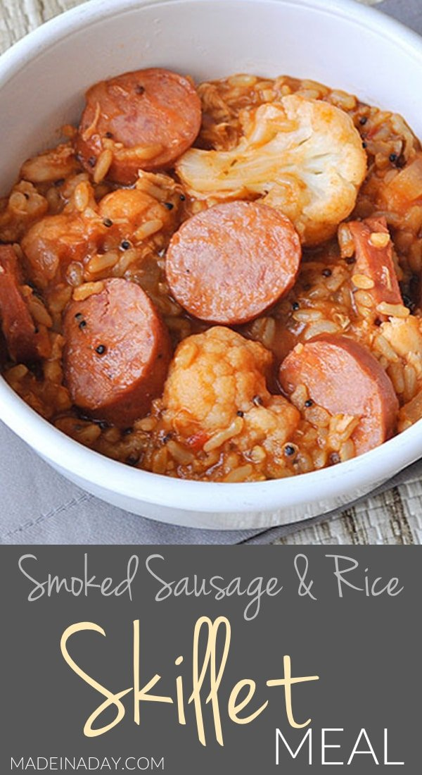 Hearty Sausage and Rice Skillet Meal 4