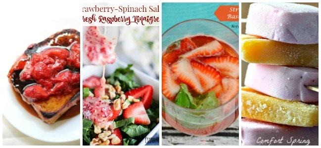 16 Summer Strawberry Treat Recipes 2
