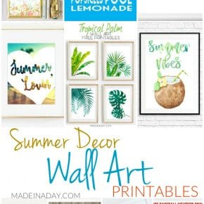 11 Summer Decor Wall Art Printables 29