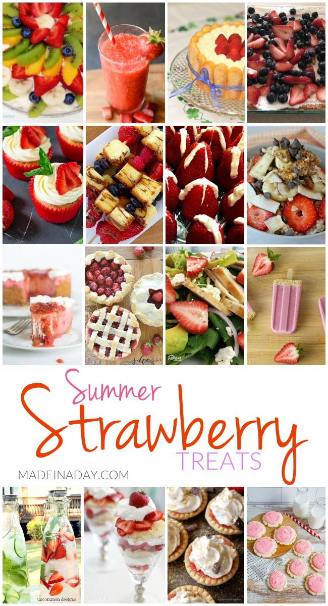 strawberry treat recipes