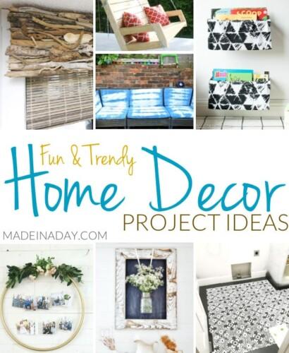 Fun Trendy Home Decor Project Ideas 33