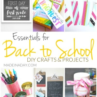 Essentials for Back to School DIY Crafts and Projects