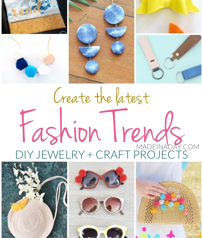 Create The Latest Fashion Trends Diy Jewelry Craft Projects Made