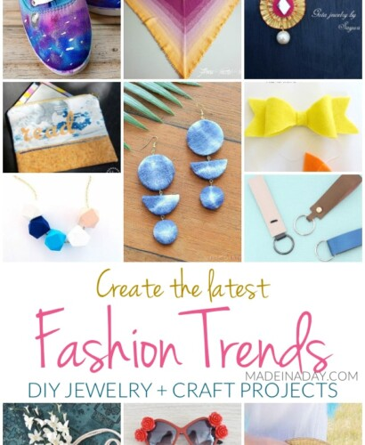Create the Latest Fashion Trends DIY Jewelry + Craft Projects 32