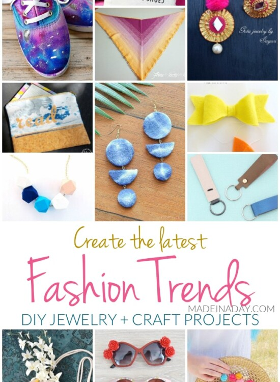 Create the Latest Fashion Trends DIY Jewelry + Craft Projects 34