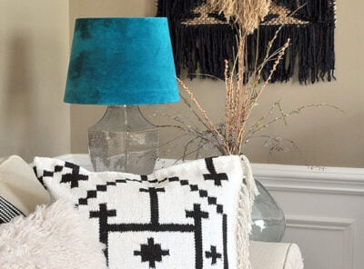 Make your own Kilim Throw Pillow Covers from a Rug