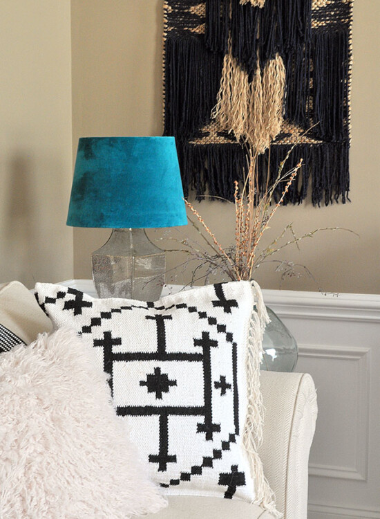 Make your own Kilim Throw Pillow Covers from a Rug 32