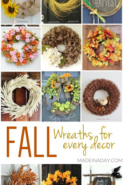 DIY Fall Wreath Ideas for Every Decor
