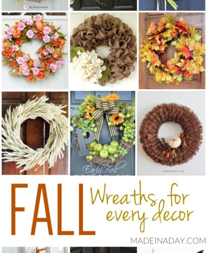 Stunning DIY Fall Wreath Ideas for Every Decor 31