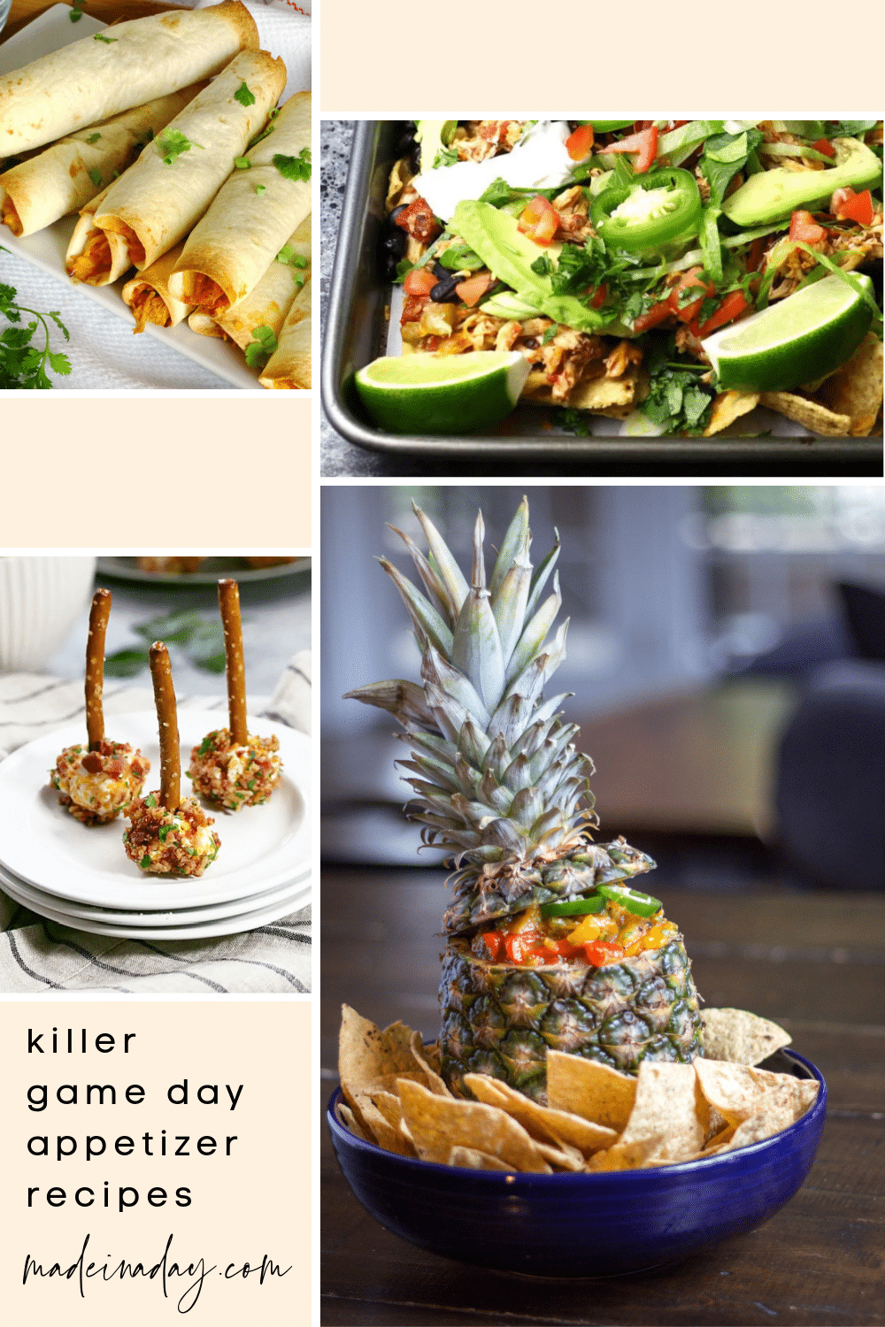 10 Delicious Easy Appetizers for Game Day