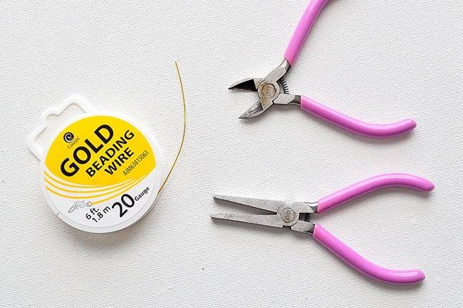 DIY Geometric Hoop Earrings 3