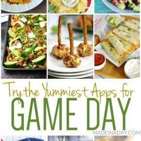 Winning Appetizers for Game Day 1