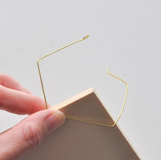 DIY Geometric Hoop Earrings 9