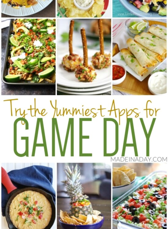 Winning Appetizers for Game Day 7