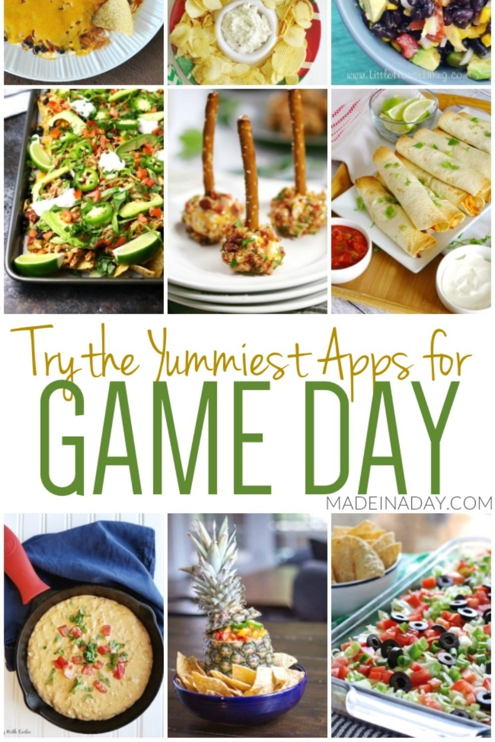 Winning Appetizers for Game Day
