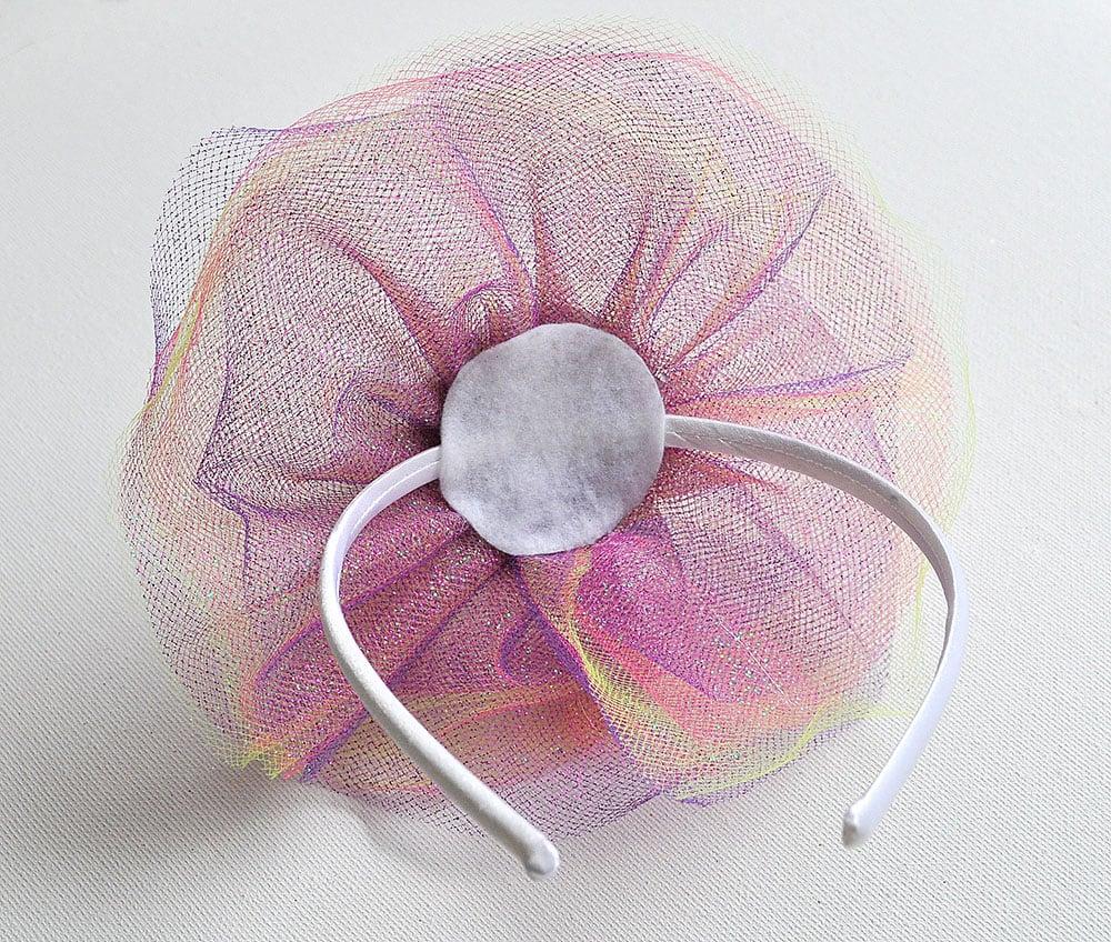 Mini Tulle Party Hat Headbands 9