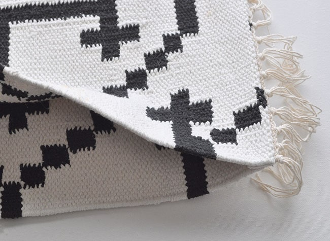 DIY no sew Kilim pillow covers