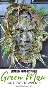 Exquisite Ggreen Man Woodland Wreath 1