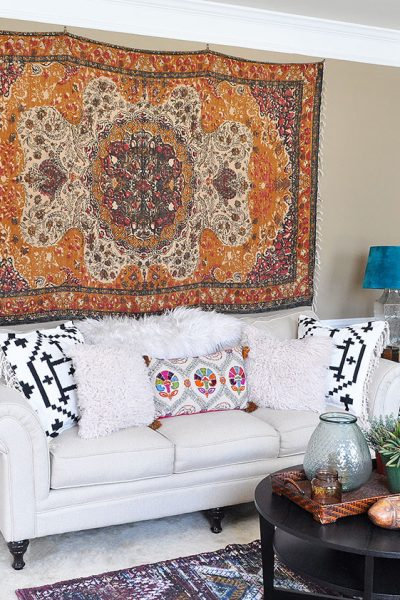 Rug Wall Art: How to Hang a Rug Like a Tapestry