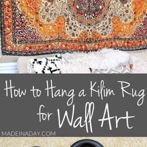 Rug Wall Art: How to Hang a Rug Like a Tapestry 29