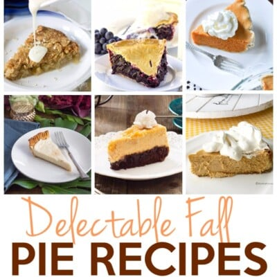 Delectable Fall Pie Recipes