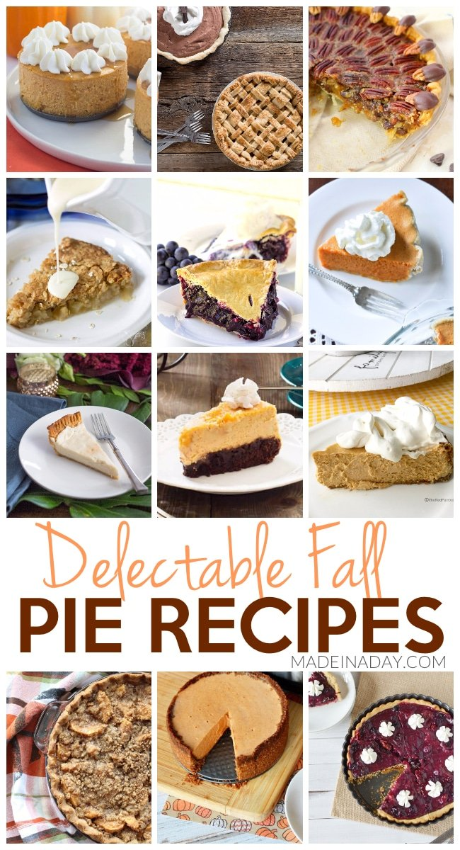 Delectable Fall Pie Recipes 2